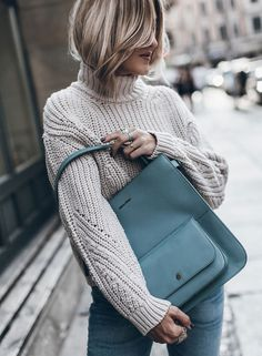 d3b4c52e63 SEPTEMBER  The limited Malmö bag in six strong colours. Presented by  Jacqueline Mikuta.