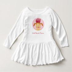 20% auf  ALLES!  Genieße die Spiele!  Nutze den Code: SPORTWORLD16 - Little Monster Princess T Shirts - designed by Susanne Sachers - #zazzle #zazzler #zazzleshop #art #dress #kids #children #fun  #present #shop #birthday #princess #girl #girly #creepy #monster #fashion