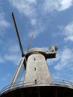 The Windmill at Beach Chalet in Golden Gate Park, San Francisco