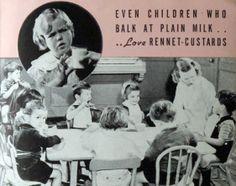 Pamphlet for rennet custards, 1938