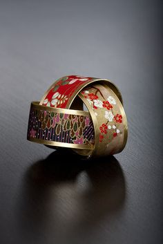 Japanese washi paper bracelet