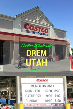 Today we visit the Costco Orem Utah location to check on their under construction bakery department.