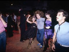 At the end of the day, though, it really was about the party scene. Disco…