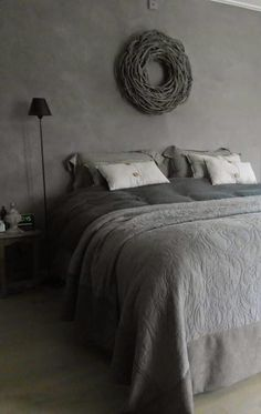 home decor bedroom furniture Gray Bedroom, Master Bedroom, Grey Room, Home Decor Bedroom, Interior Design Living Room, Bedroom Furniture, Cosy Living, Wabi Sabi, New Homes