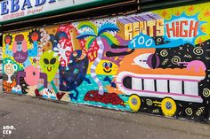 """Malarky's""Rents too High Mural  on the Wood Street Walls (2015) via  'HOOKEDBLOG' (6818 PHOTO ©2015 MARK RIGNEY) ♥≻★≺♥"
