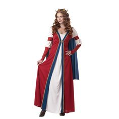 Renaissance Queen Adult Costume 802080