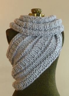 The Katniss Cowl Hunger Games Chunky Knit Cowl by BoPeepsBonnets