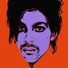 Prince by Andy Warhol