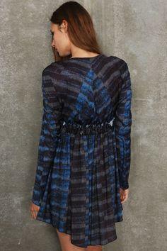 See By Chloe New York Print Dress