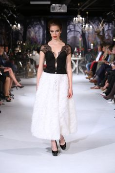 Monique Collignon Haute Couture 2014 Collection:  L'air Du Temps
