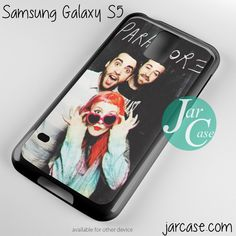 Paramore Music Band Phone case for samsung galaxy S3/S4/S5