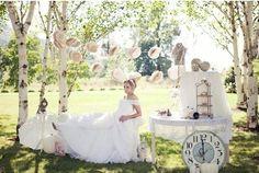 cinderella wedding, I like the clock idea Dream Wedding, Wedding Day, Wedding Dreams, Wedding Events, Destination Wedding, Weddings, Cinderella Wedding, Cinderella Theme, Official Dresses