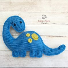 Brachioaurus Free Crochet Pattern bull Spin a Yarn Crochet: Hi, friends! I'm back with a new pattern for you! Brian is a Brachiosaurus and is probably the… Thread Crochet, Crochet Yarn, Free Crochet, Bumble The Abominable Snowman, Crochet Dinosaur, Easter Crochet Patterns, Yarn Tail, Crochet Pillow, Stuffed Animal Patterns