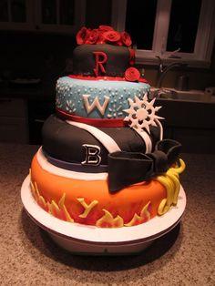 RWBY Cake