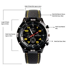 >> Click to Buy << Popular Outdoor Design Men's Fashion Silicone Band Stainless Steel Sport Quartz Wrist Watch classical style #Affiliate
