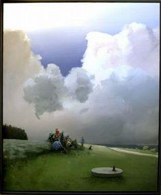 poulankerbech.dk Danish, Golf Courses, Paintings, Inspiration, Art, Kunst, Biblical Inspiration, Art Background, Paint