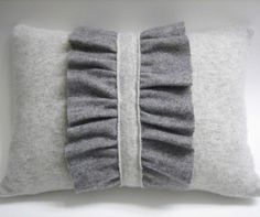 Dishfunctional Designs: thrift store cashmere sweaters recycled