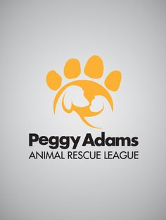ADDY Award-winning logo for Peggy Adams Animal Rescue League, designed by O'Donnell Agency.