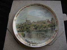 Prince Edward & Sophie royal wedding commemorative plate. (04/19/2014)