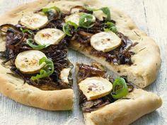 Probieren Sie die leckere Pizza mit roten Zwiebeln von EAT SMARTER oder eines unserer anderen gesunden Rezepte!