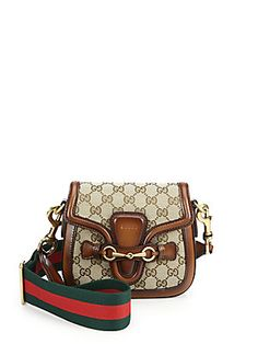 ff561548e184 Gucci - Lady Web Original GG Canvas Shoulder Bag