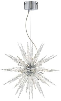 Possini Euro Design Glass Icicle Pendant Light | 55DowningStreet.com