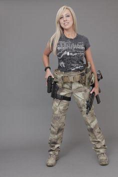Girls with Guns!