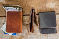 Minimal Front-Pocket Wallet Horween by HarbingerLeatherDsgn