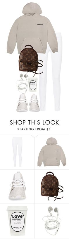 """Untitled #5031"" by theeuropeancloset ❤ liked on Polyvore featuring Joseph, adidas and Louis Vuitton"