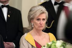 another couple of photos of Princess Astrid, wearing the diamond bandeau often…