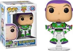 Bring intergalactic fun to your Pop! collection with this Buzz Lightyear vinyl figure. Created by Funko, the moulded figure features Buzz in his classic Space Ranger suit. Buzz Lightyear, Disney Pixar, Disney Toys, Funko Pop Dolls, Funko Toys, Pop Vinyl Figures, Vinyl Toys, Funko Pop Vinyl, Woody