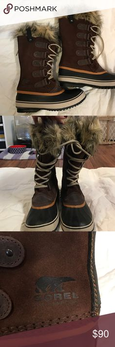 Sorel boots size 8.5 Gently used sorel winter boots, great condition, priced to sell! Sorel Shoes Winter & Rain Boots