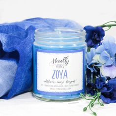 Zoya | 9oz jar | King of Scars inspired soy candle Glass Jars, Mason Jars, Audrey Rose, Leigh Bardugo, Candels, Branding Ideas, Fragrance Oil, Soy Candles, Things To Buy