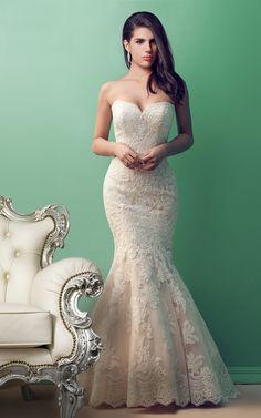 Alluring Sweetheart Mermaid Lace Wedding Dress b2106d048aa65