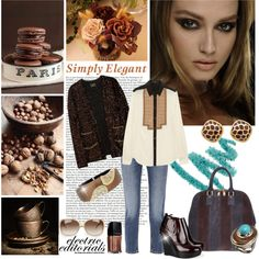 """""""Expressive Espresso"""" by sophisty on Polyvore"""