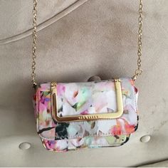 Ted Baker Bags - Ted Baker Cross-body floral mini