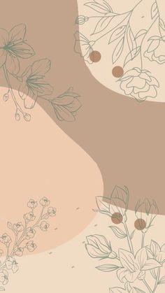 Flower Background Wallpaper, Cute Wallpaper Backgrounds, Wallpaper Iphone Cute, Flower Backgrounds, Cute Wallpapers, Watercolor Wallpaper Iphone, Trippy Wallpaper, Glitter Wallpaper, Aesthetic Pastel Wallpaper