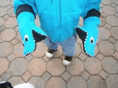 monster mittens - instructables
