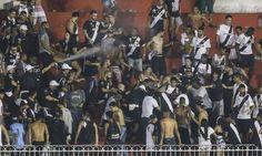 ESPORTE: Vasco pode ser punido por causa do tumulto no jogo...