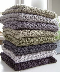 Halager: DIY - Endnu en karklud i mønsterhækling Crochet Towel, Crochet Dishcloths, Diy Crochet, Knitting Projects, Crochet Projects, Crochet Kitchen, Knitted Blankets, Beautiful Crochet, Textiles