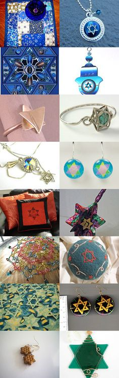 Seeing Stars -of the Jewish Kind by Gail on Etsy--Pinned with TreasuryPin.com