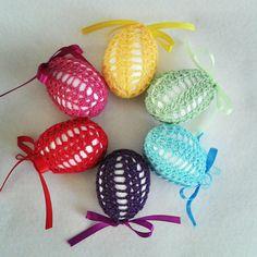 SALE  Hand made crochet Easter egg  Easter by LolasKnittingDreams