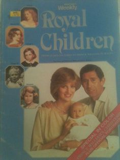 Princess Diana: ROYAL CHILDREN BOOK PRINCE WILLIAM CHRISTENING PHOTOS HISTORY in Collectables, Royalty, Princess Diana | eBay