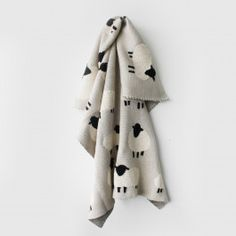 Cosy up with your little one this season with this gorgeous sheep flock baby blanket. Made from pure cotton it feels exquisitely soft and snuggly. The perfect addition to any nursery or children Glass House, Flocking, Little Ones, Sheep, Nursery, Blanket, Cosy, How To Make, Cotton