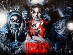 Michael jackson Legion 7: THRILLER EN 3D