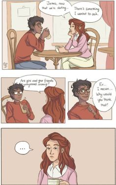 Woww he's bad at lying Harry Potter Comics, Harry Potter Marauders, Harry Potter Jokes, Harry Potter Fan Art, Harry Potter Universal, Harry Potter Fandom, The Marauders, Lily Potter, James Potter