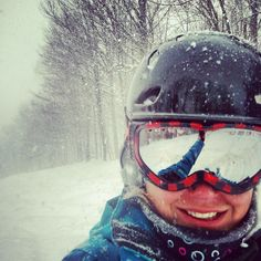 Pow Day. March 2013. #bestday #burke #powpow #skibumlife