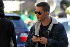 Tom Hardy Photos - Tom Hardy Out and About - Zimbio