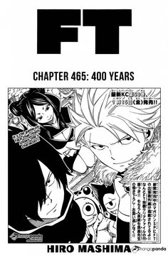 Read manga Fairy Tail Fairy Tail 465: 400 Years online in high quality