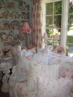 Shabby Chic Living Room                                                                                                                                                                                 Mais